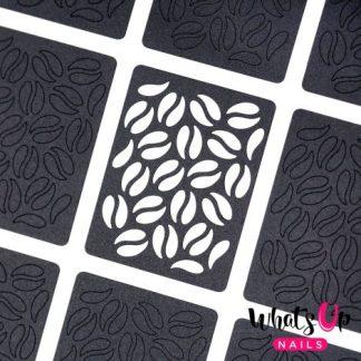 Coffee - neglevinyl med kaffebønner