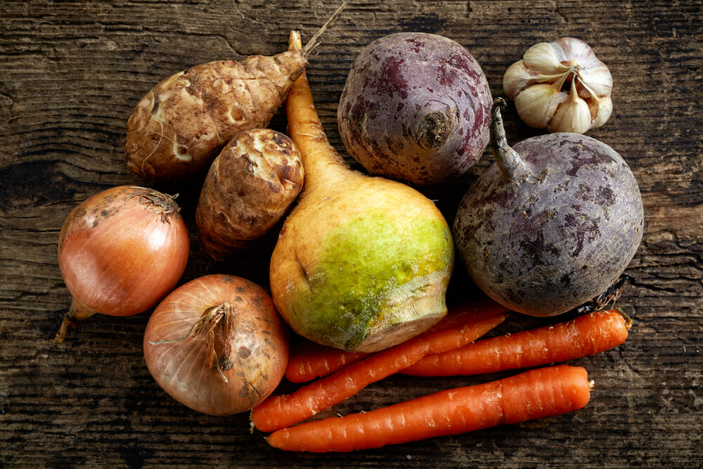 Seven Root Vegetables to Boost Your Health