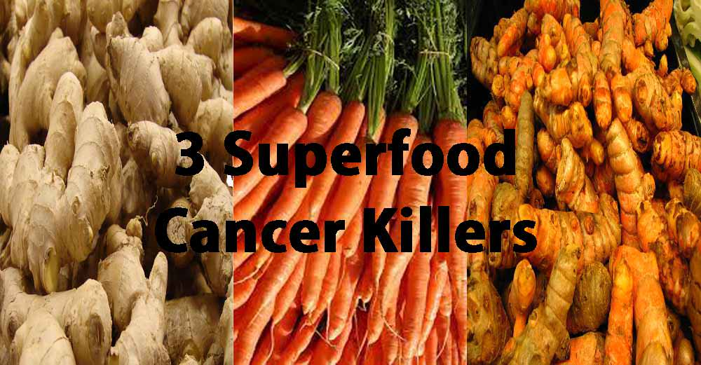 3 Superfood Cancer Killers