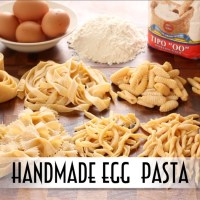 Handmade Egg Pasta - Shaped 9 Ways