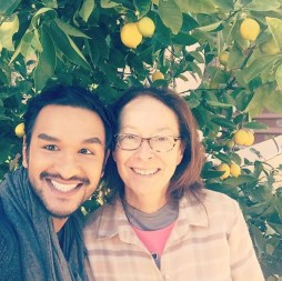Philip Singh with JOT founder Isabel Wade