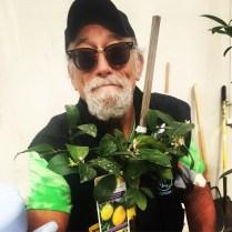 JOT Tree Raffle Winner Robert Archer.