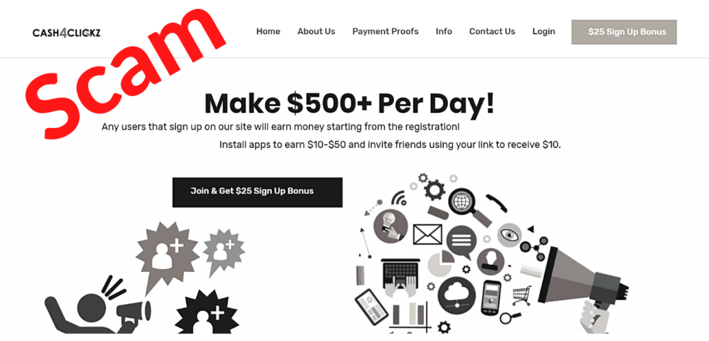 Cash4Clickz Review: Easy $500 per Day or Another Scam