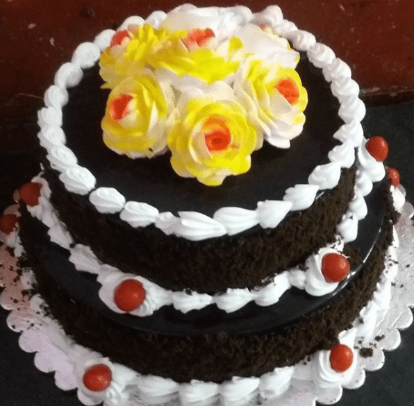 Double Store Cake With Chocolate Flavor 2.5kg