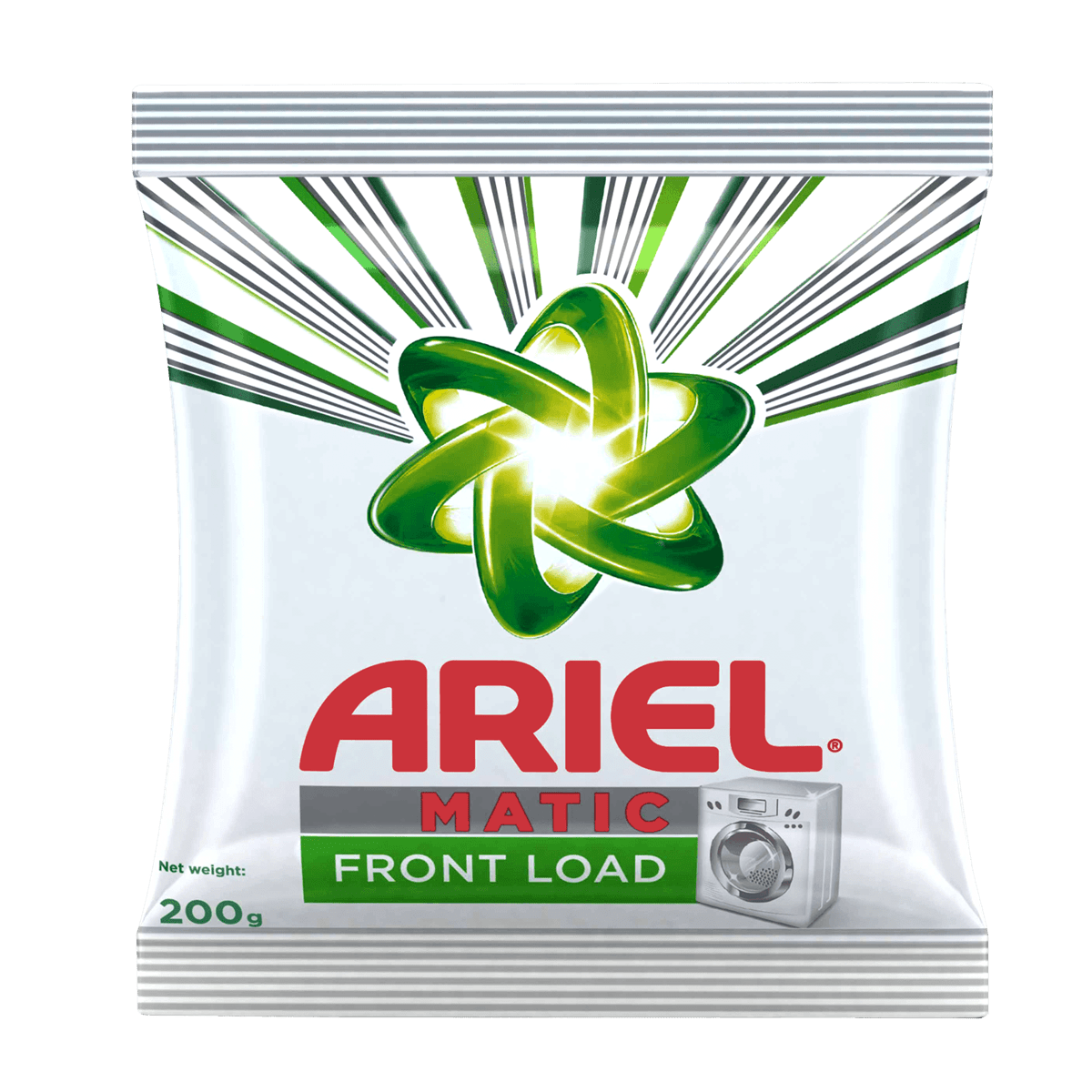 Ariel Washing Detergent Powder - Matic Front Load, 500 g