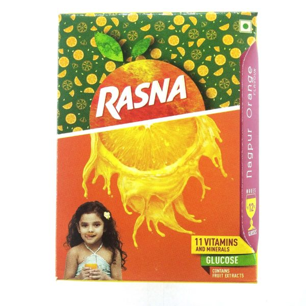 Rasna FruitFun Nagpur Orange, 7.5g
