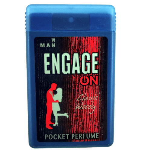 Engage On Man Classic Woody Pocket Perfume 18ml