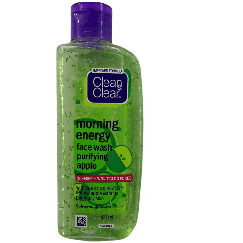 Clean & Clear Morning Energy Face Wash- Purifying Apple 100ml