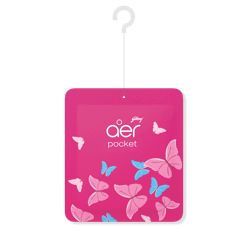 Godrej aer pocket, Bathroom Air Fragrance - Petal Crush Pink (10g)