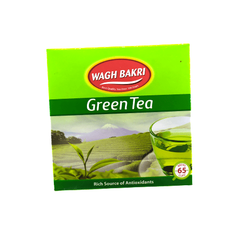 Wagh Bakri Green Tea Leaf, 100g