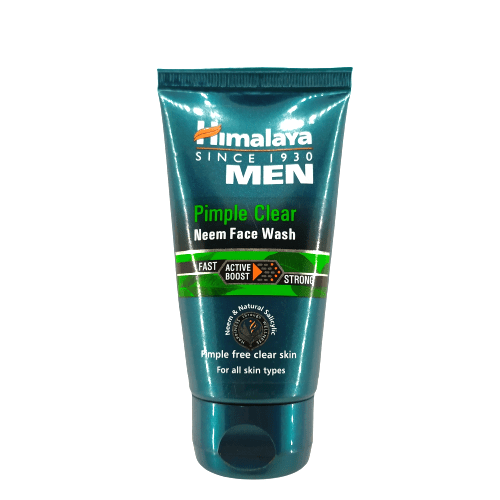 Himalaya Men Pimple Clear Neem Face Wash, 50ml