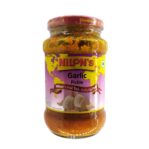 Nilons Garlic Pickle Bottle, 400g