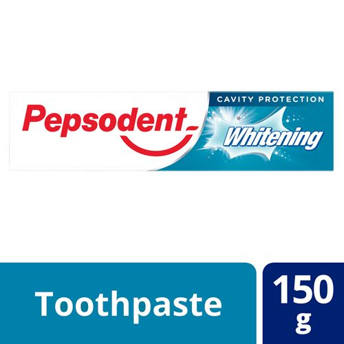 Pepsodent Whitening Toothpaste, 150g