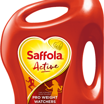 Saffola Active, Pro Weight Watchers Edible Oil, 5L