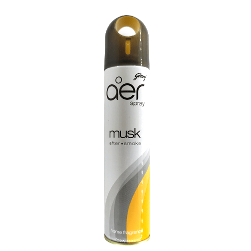 Godrej aer Spray, Home Freshener - Musk After Smoke (240ml)