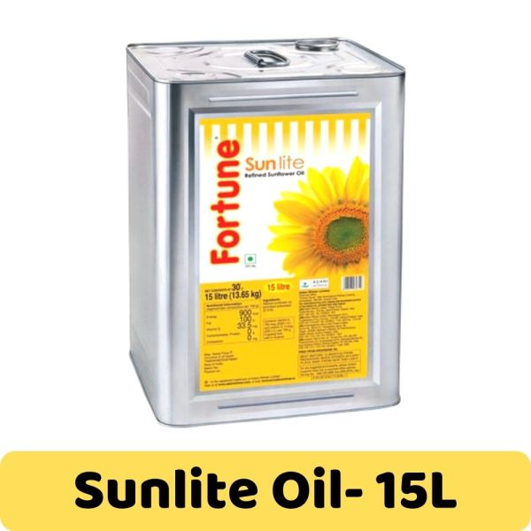 Fortune Sunlite Refined Sunflower Oil - 15L