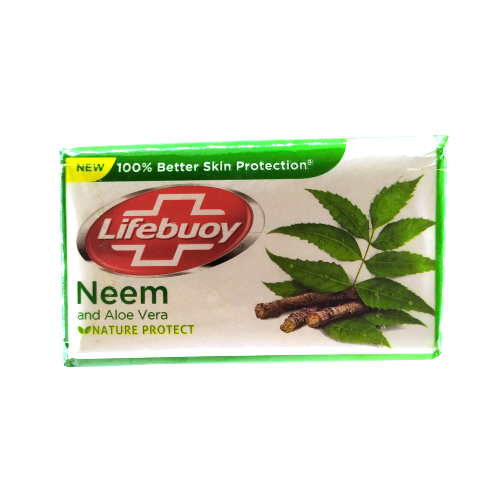 Lifebuoy Neem and Aloe Vera Soap ( 4x125g )