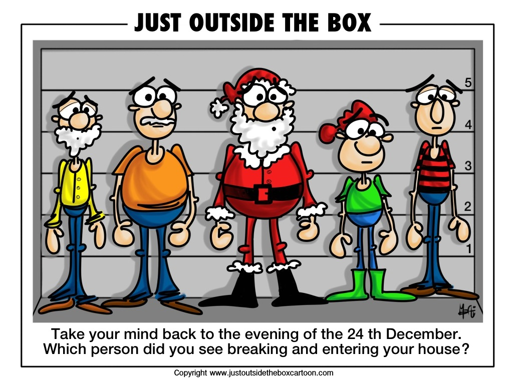 Christmas Archives Just Outside The Box Cartoon