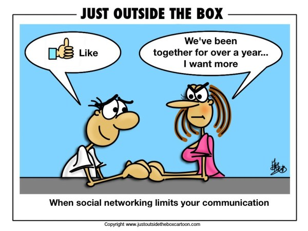 Is social networking limiting your communication Just