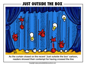 curtain close cartoon outside box closed never humour ooh done follow ve clever rather feeling previous justoutsidetheboxcartoon comic