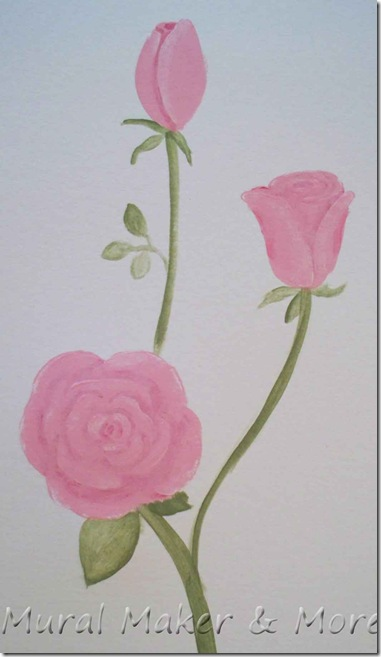 How to paint Roses  Just Paint It Blog