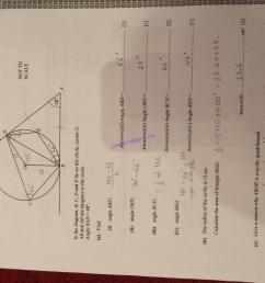 CIE – 0580 Mathematics IGCSE Paper 42 [ 2448 x 3264 Pixel ]