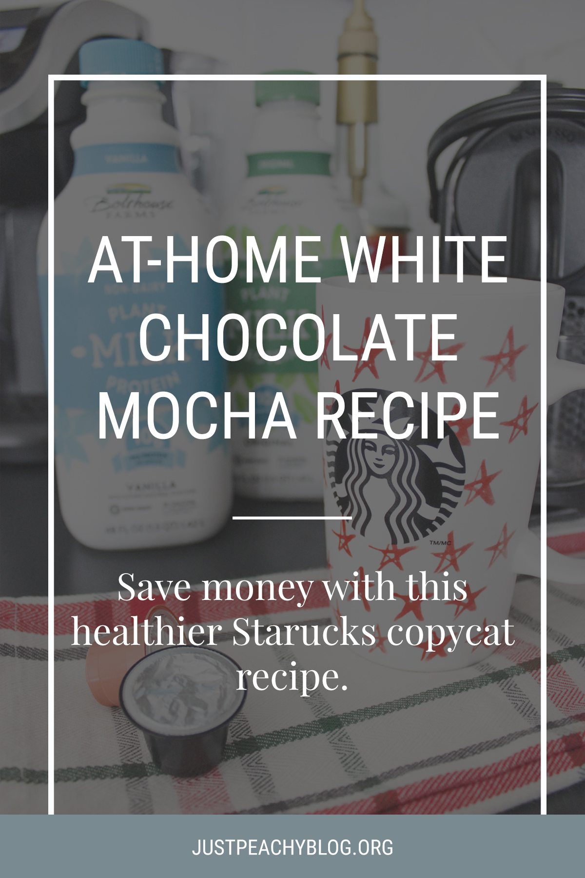 At Home White Chocolate Mocha Recipe | Starbucks Copycat