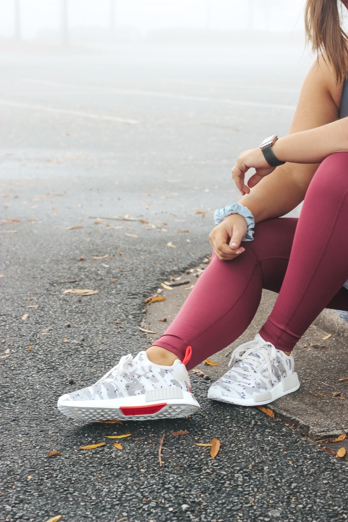 adidas athleisure outfit   just peachy blog