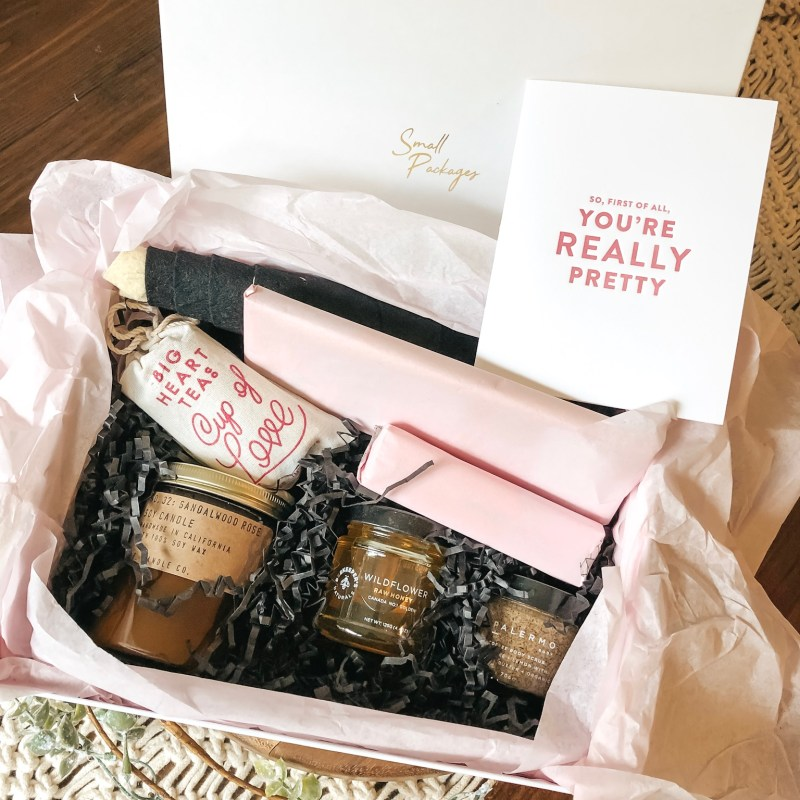 Small Packages Gift Boxes Review | Just Peachy Blog