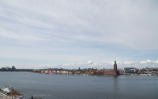 Stockholm City Hall in april 2012