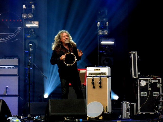 Robert Plant and The Sensational Space Shifters concert in Stockholm 2015