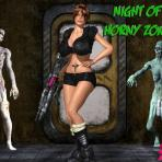 First pic of Horny zombies are about to fuck this poor 3D chick
