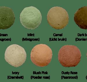Allerlei: Flowerbombs kleuren