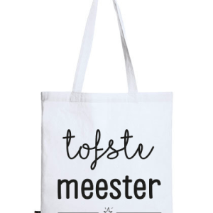 Geschenken: Tas Meester - Wit