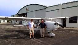 Captain Alex and Captain Ed