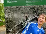 Chelsea jersey at Washington Zoo