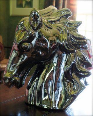 mercury-y horse head number one