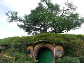 The tree above Bag End is completely man made.