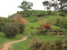 Hobbiton is a quiet town.