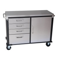 48 inch 4 Drawer Stainless Steel Top Roll Cabinet from ...