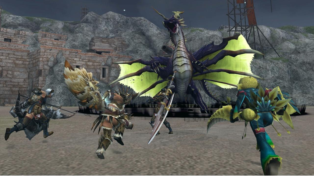 Tgs Monster Hunter Frontier G Announced For Ps Vita
