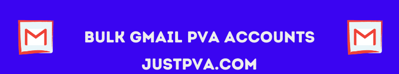 Bulk Gmail PVA Accounts