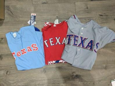 Rangers T-Shirt Quilt 2