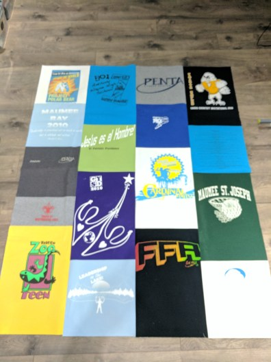 5) Andrew's T-Shirt Quilt