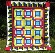My version Poinsettia Trellis pattern