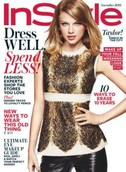 Taylor Swift in Instyle Magazine cover