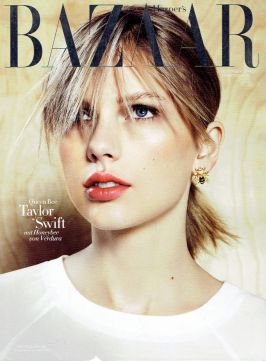 Taylor Swift in Harper's Bazarr Magazine cover