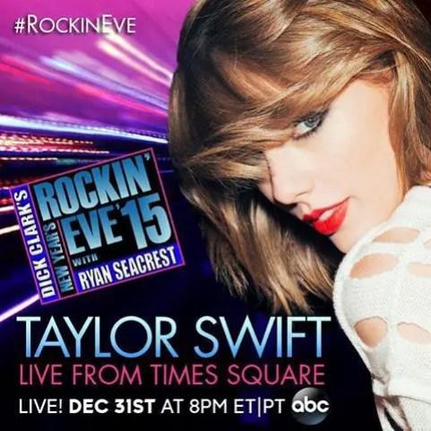 New Year's Rockin Eve 2015 Taylor Swift