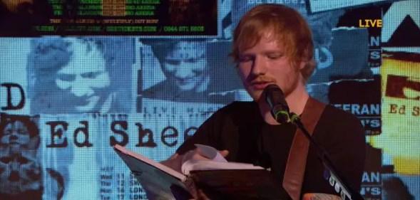 Ed Sheeran VH1 Storytellers