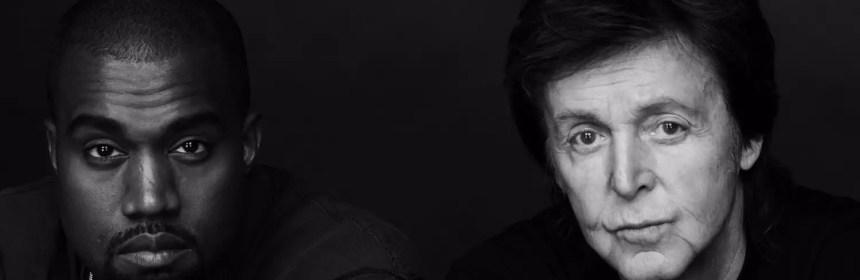 Kanye West and Paul McCartney